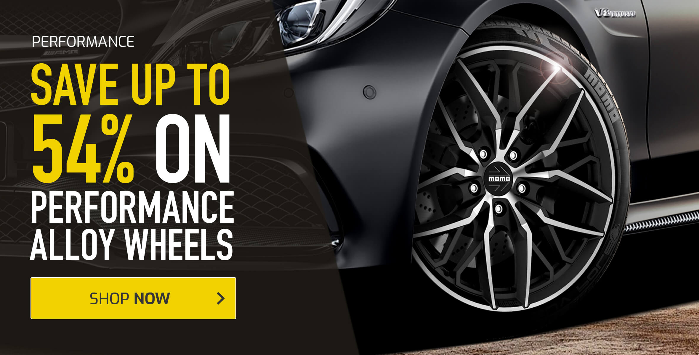 Save up to 54% on Performance Alloy Wheels
