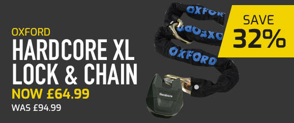 Oxford Hardcore XL Lock & Chain