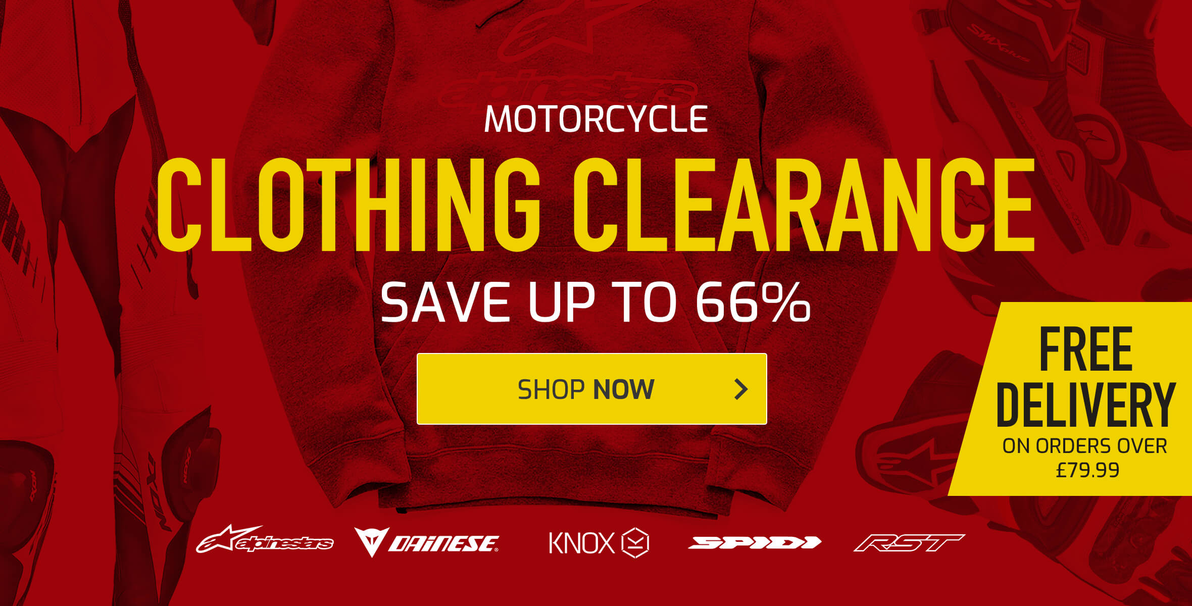 Motorcycle Clothing Clearance