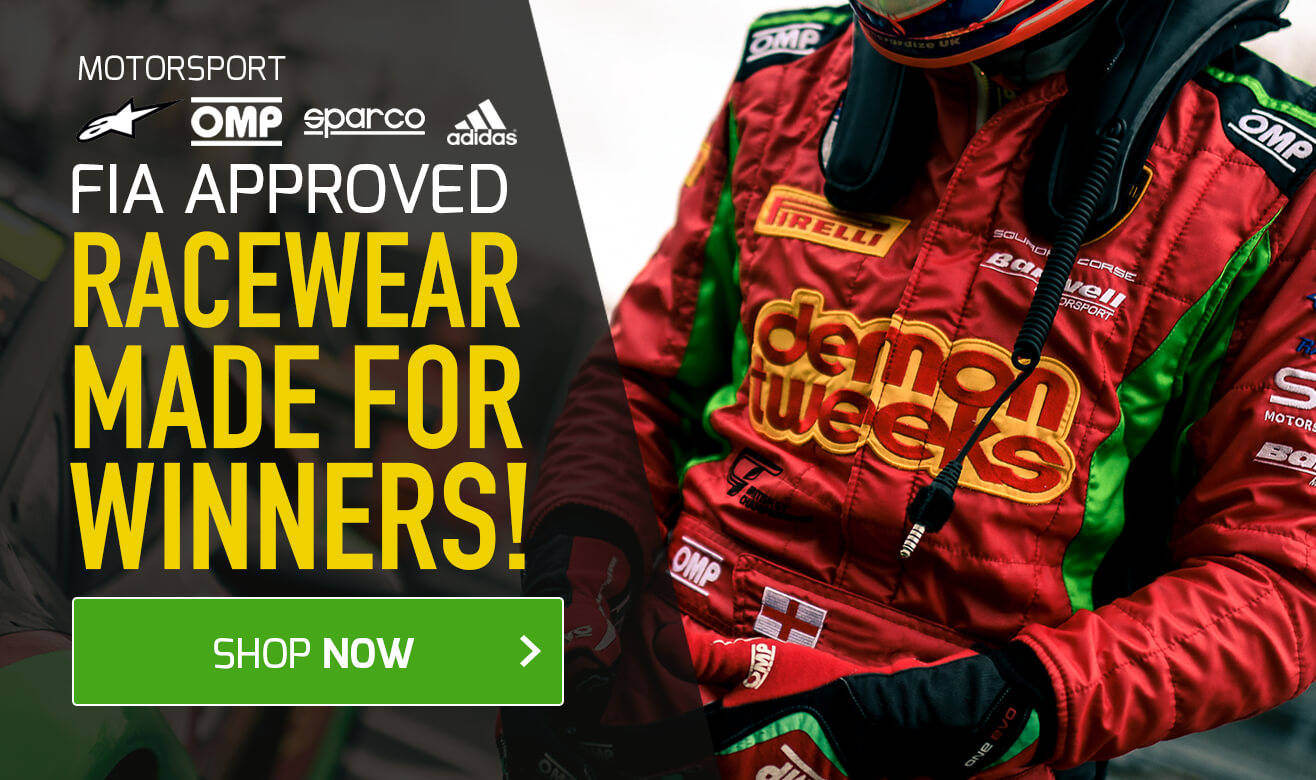 FIA Approved Racewear - Made For Winners!