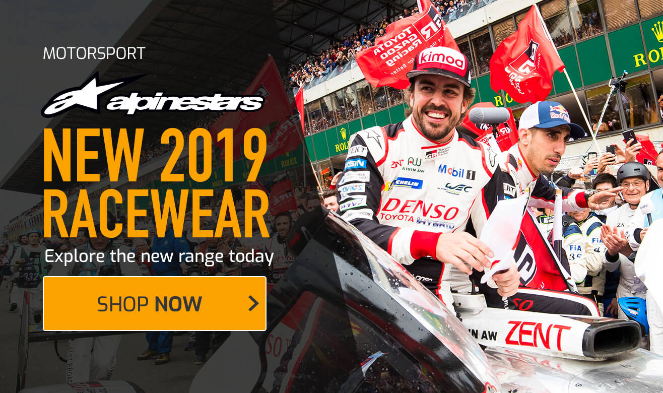 New Alpinestars 2019 Racewear