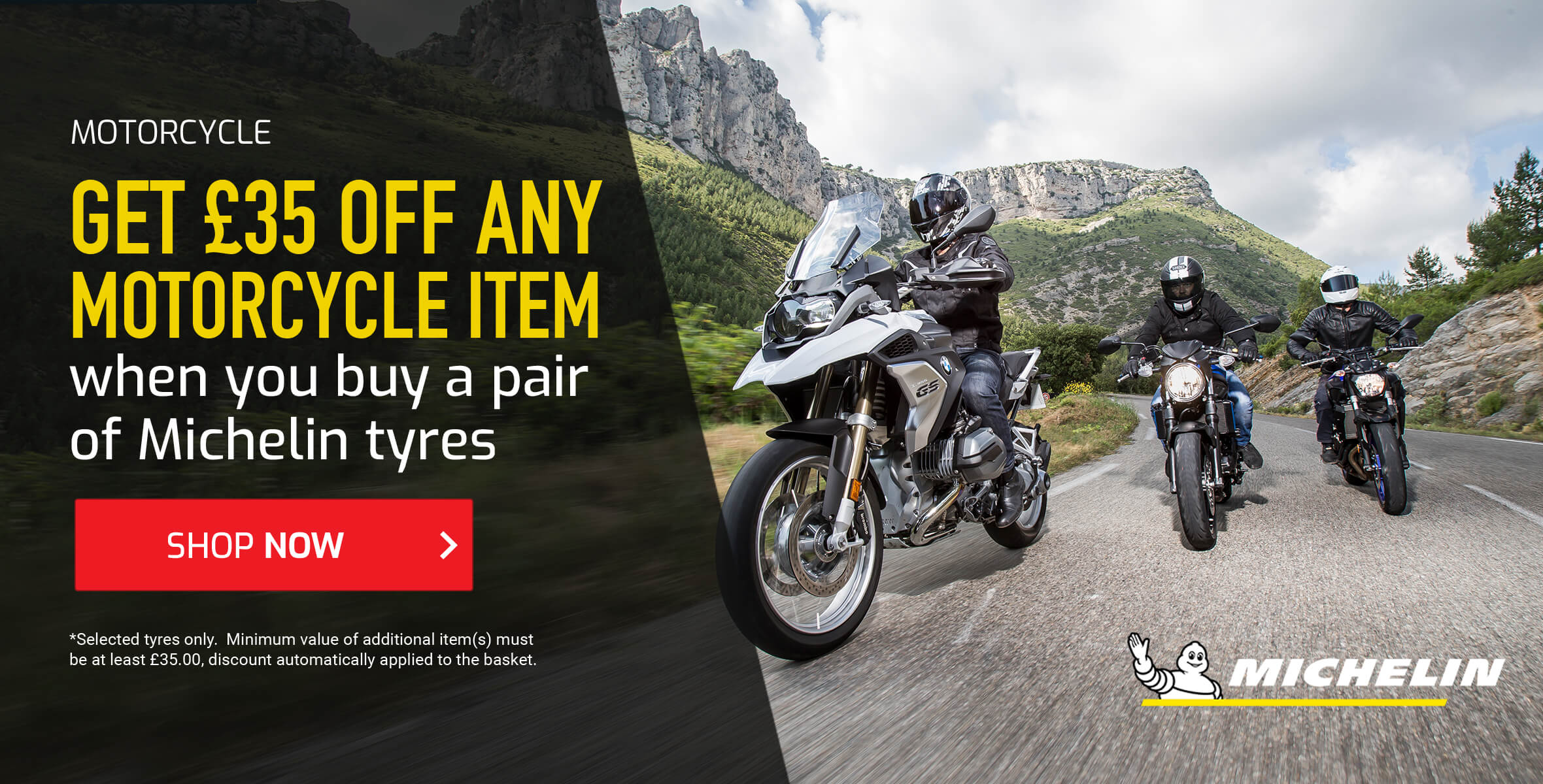Michelin Tyre Package Offer