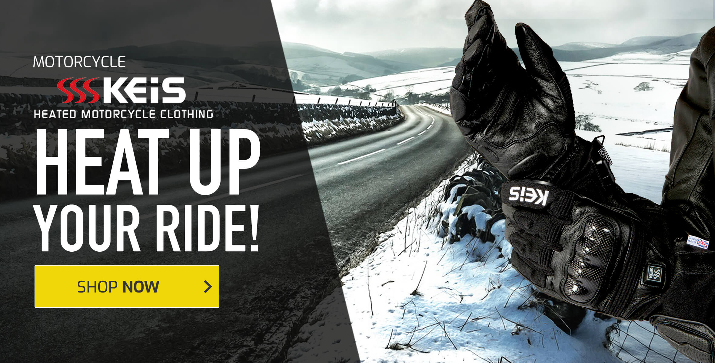 Keis Heated Motorcycle Clothing - Heat Up Your Ride!