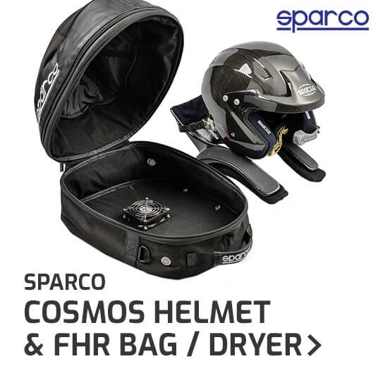 Sparco Cosmos Helmet & FHR Bag / Dryer