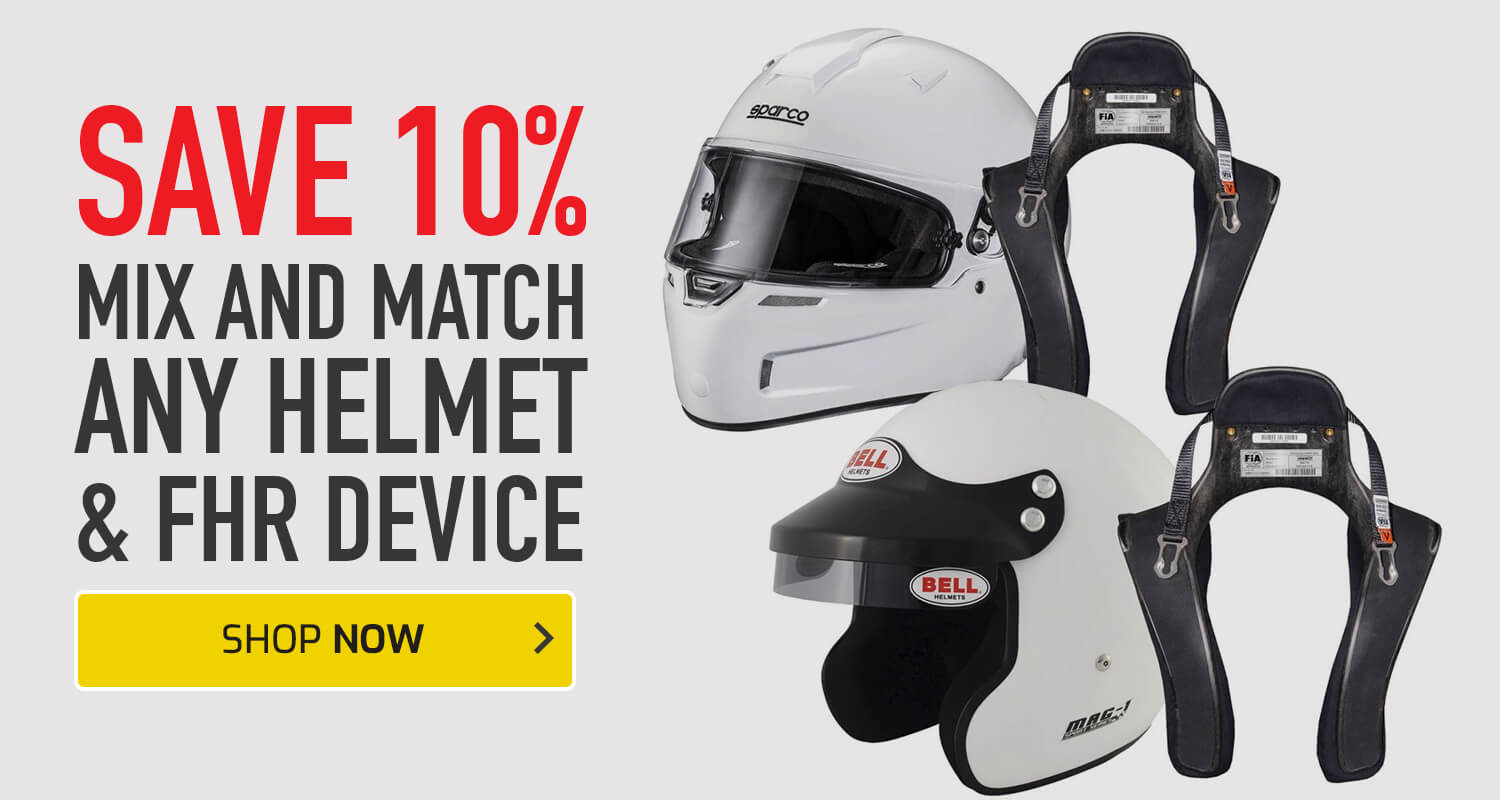 Save 10% on any Helmet and FHR device