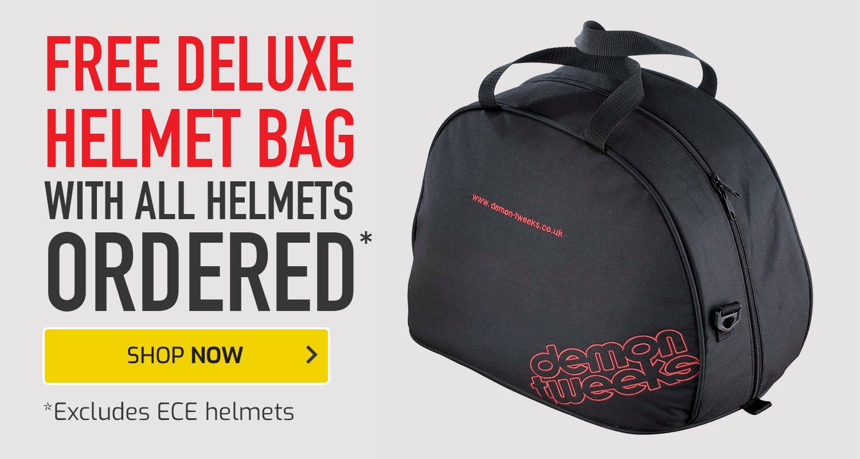 Free Deluxe Helmet Bag on Helmets