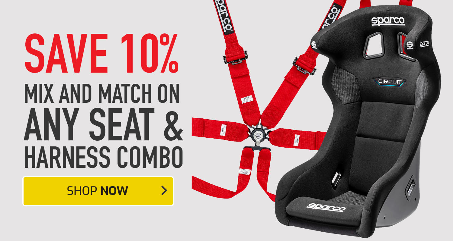 Save 10% on any Seat and Harness combo
