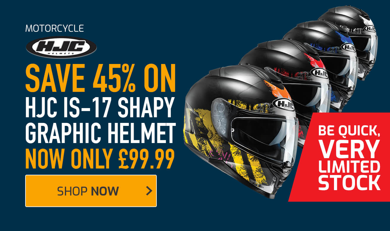 Save 45% on HJC IS-17 Shapy Graphic Helmet
