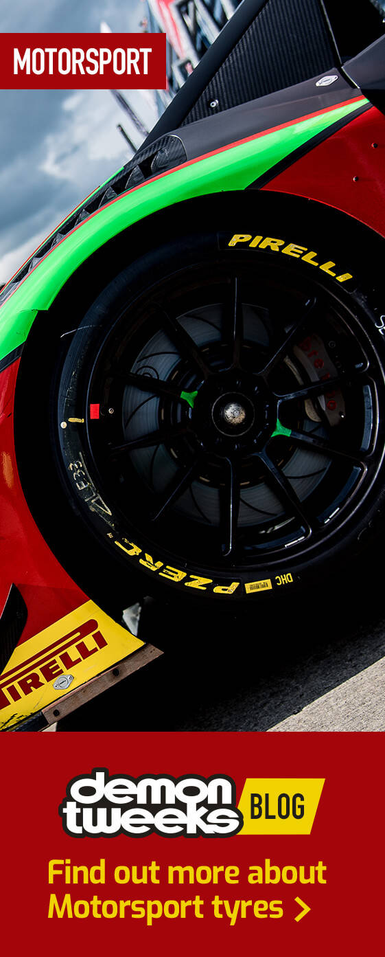 Find out more about Motorsport tyres