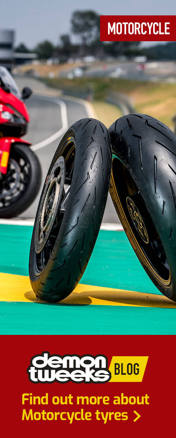 Find out more about Motorcycle tyres
