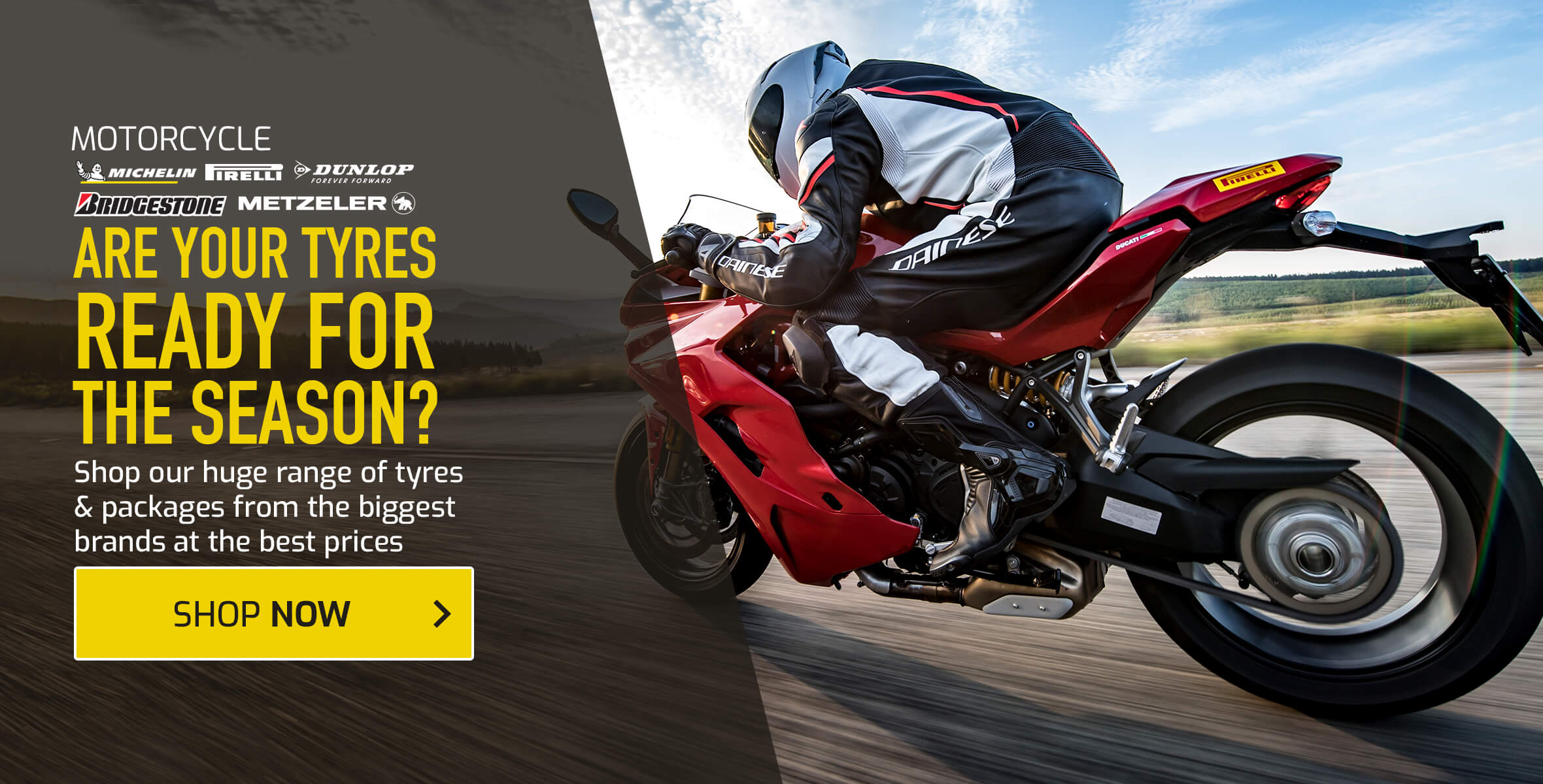Motorcycle Tyres & Tyre Packages