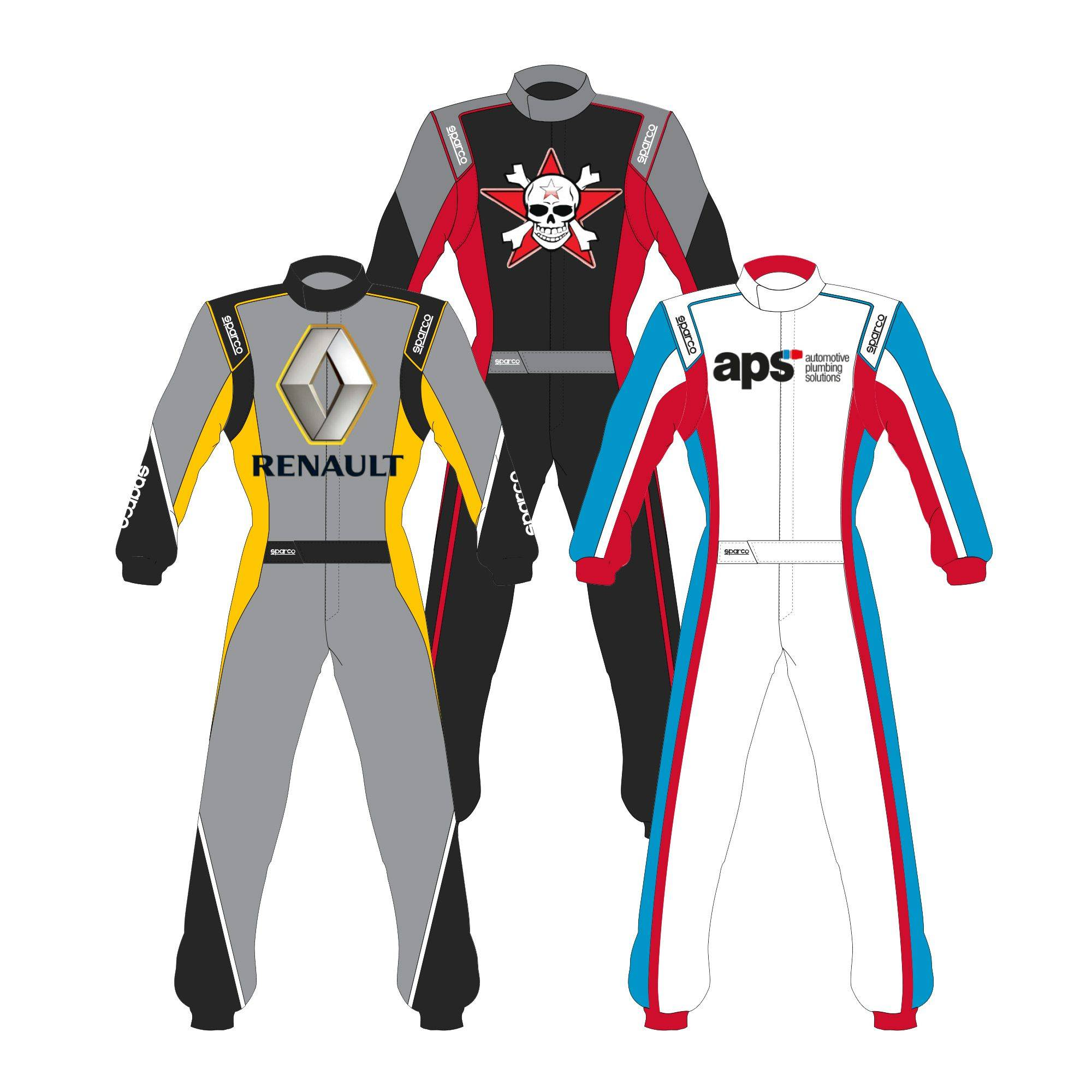 Sparco Custom Easy Competition RS-4.1 Custom Design Race Suit
