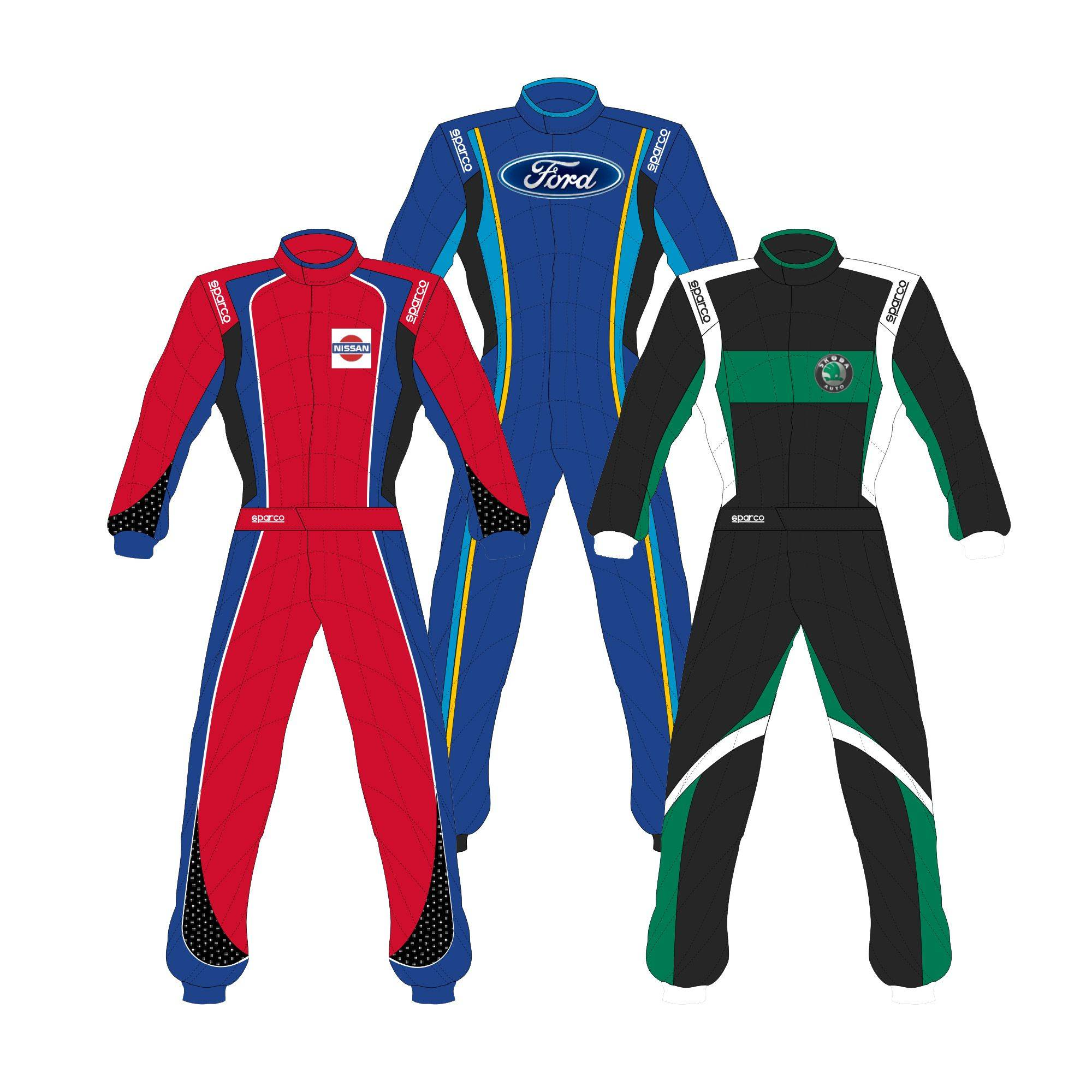 Sparco Custom Easy Superspeed RS-9 Custom Design Race Suit