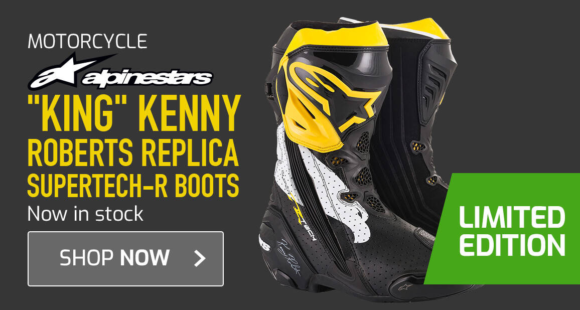 'King' Kenny Roberts Replica Supertech-R Boots