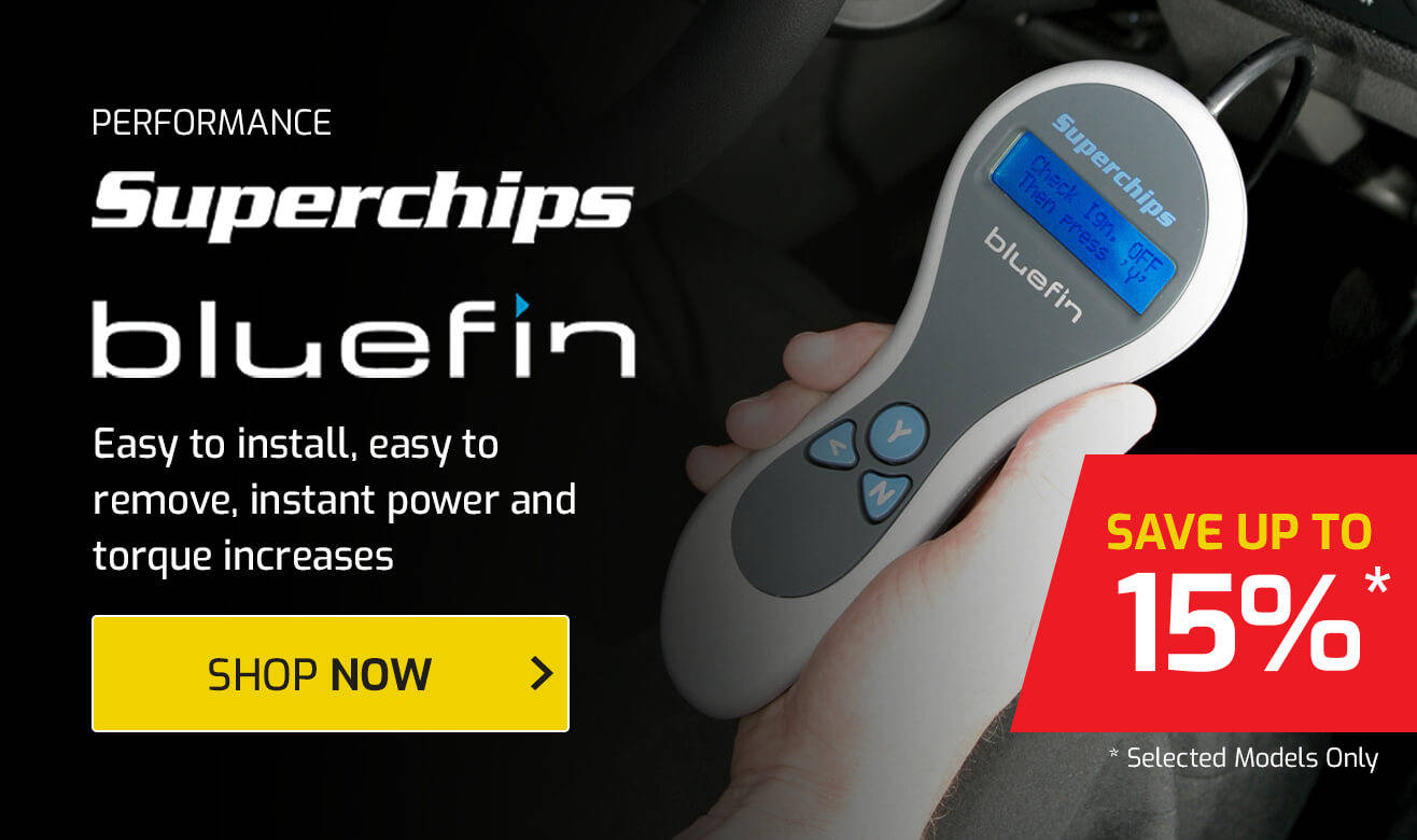 Save up to 15% on Superchips Bluefin Remaps