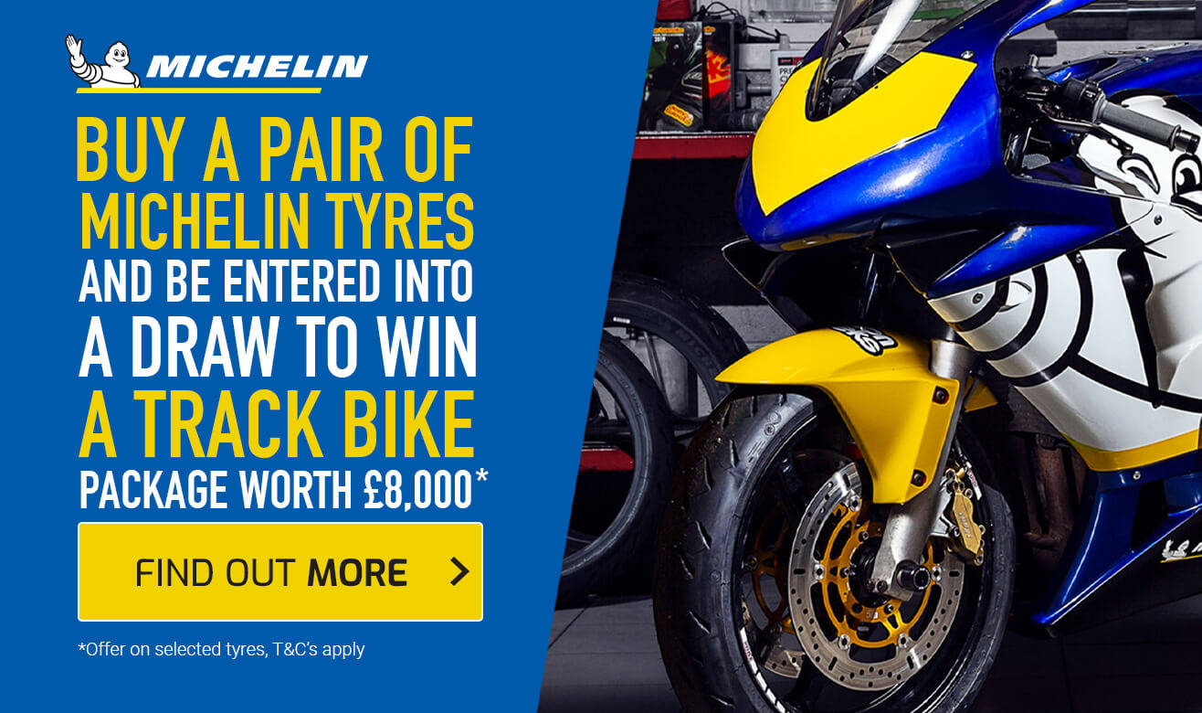 Buy a Pair of Michelin Tyres and be Entered into a Draw to Win a Track Bike Package Worth £8000