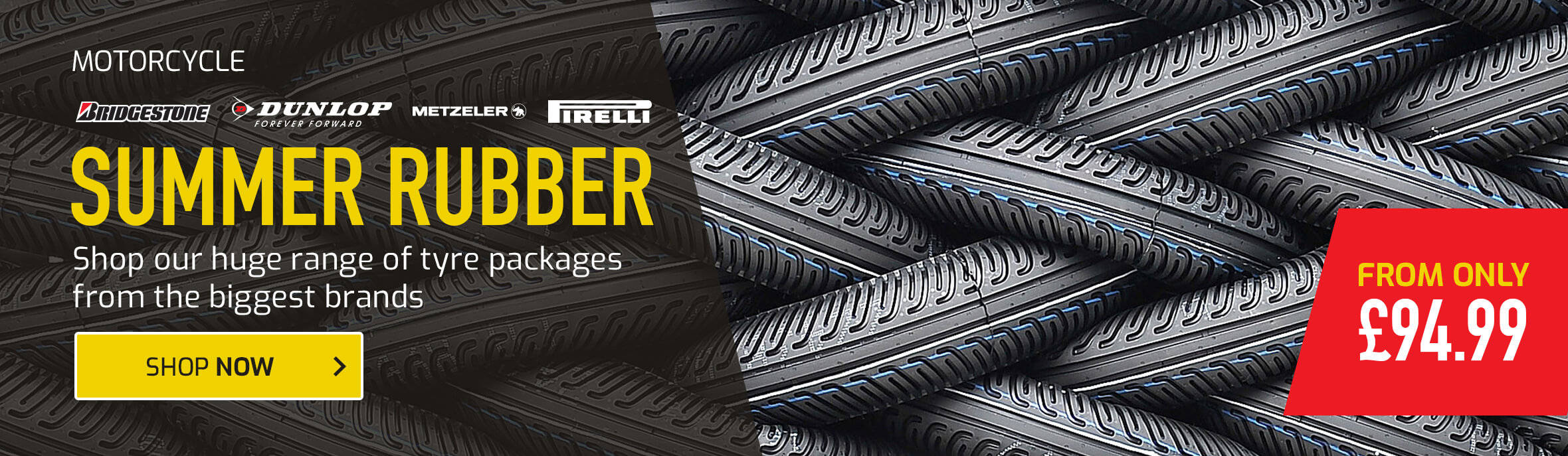 Shop the Huge Range of Tyre Packages from the Biggest Brands