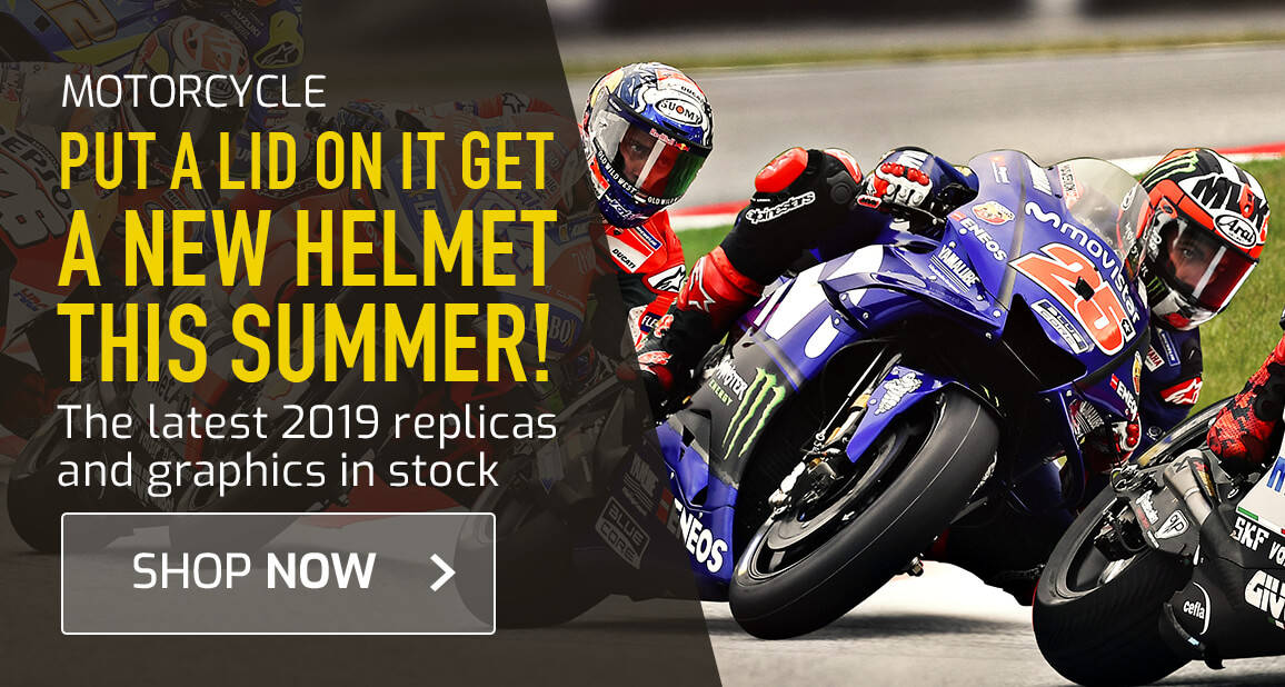 Put A Lid On It - Get A New Helmet This Summer!