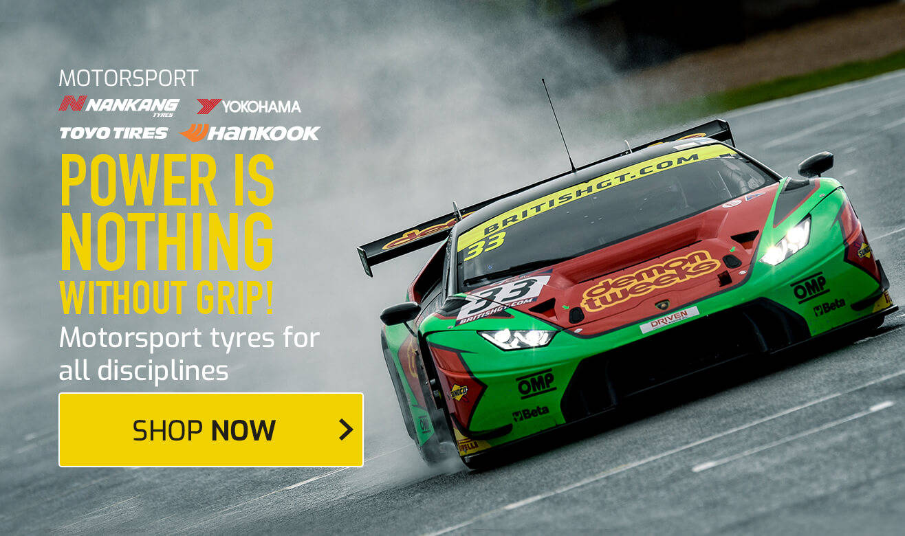 Motorsport Tyres for All Disciplines