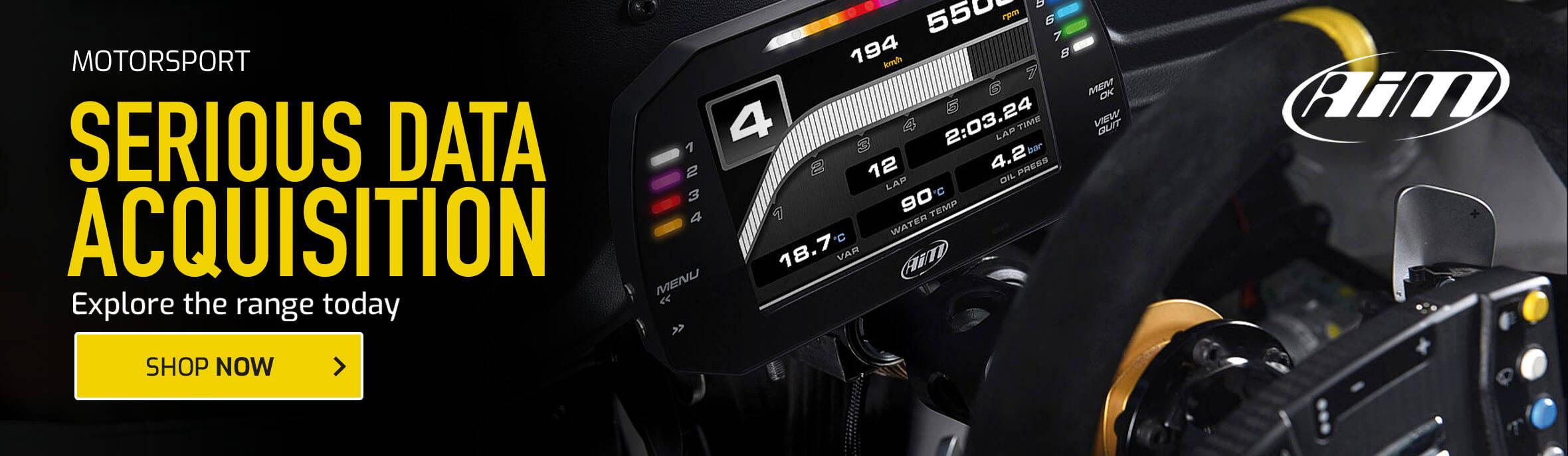 AIM Motorsport - Serious Data Acquisition