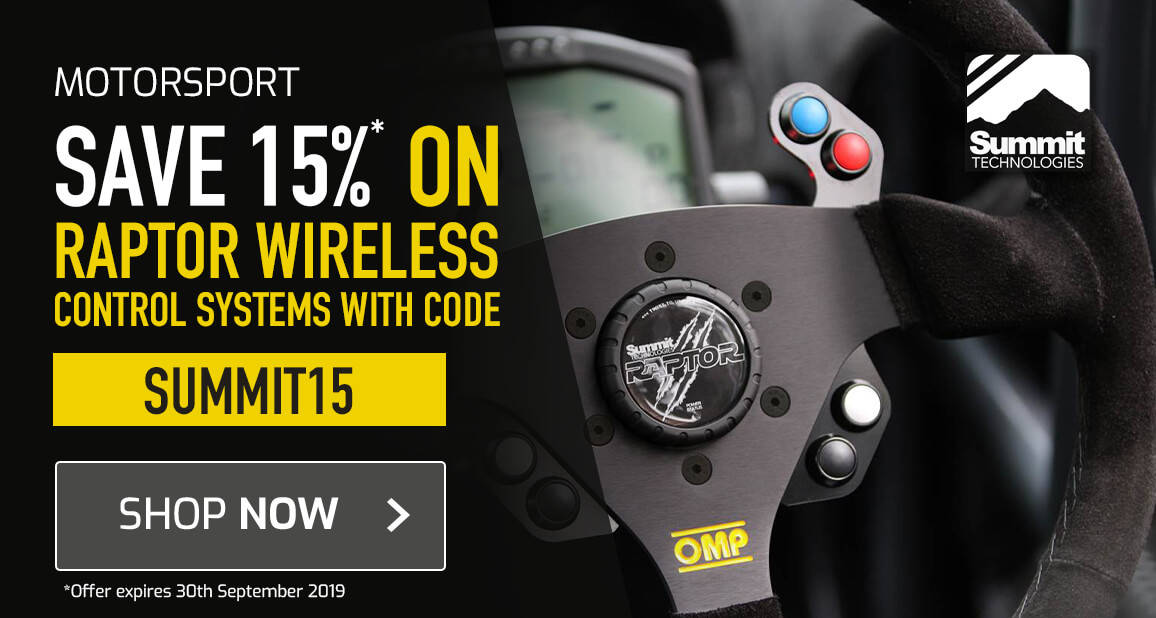 Save 15% on Raptor wireless control systems