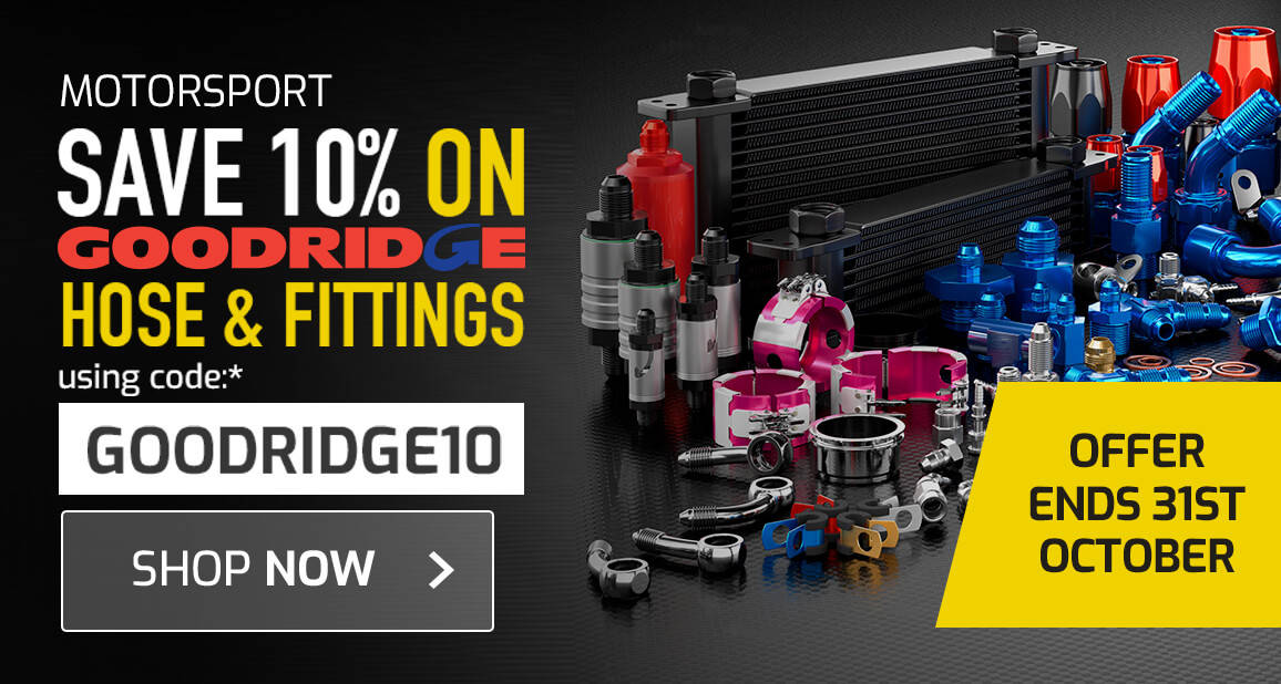 10% off Goodridge Hose & Fittings