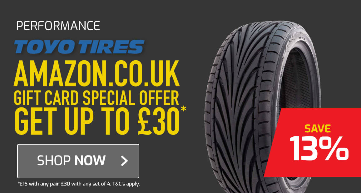Toyo Tyres Amazon.co.uk Gift Card