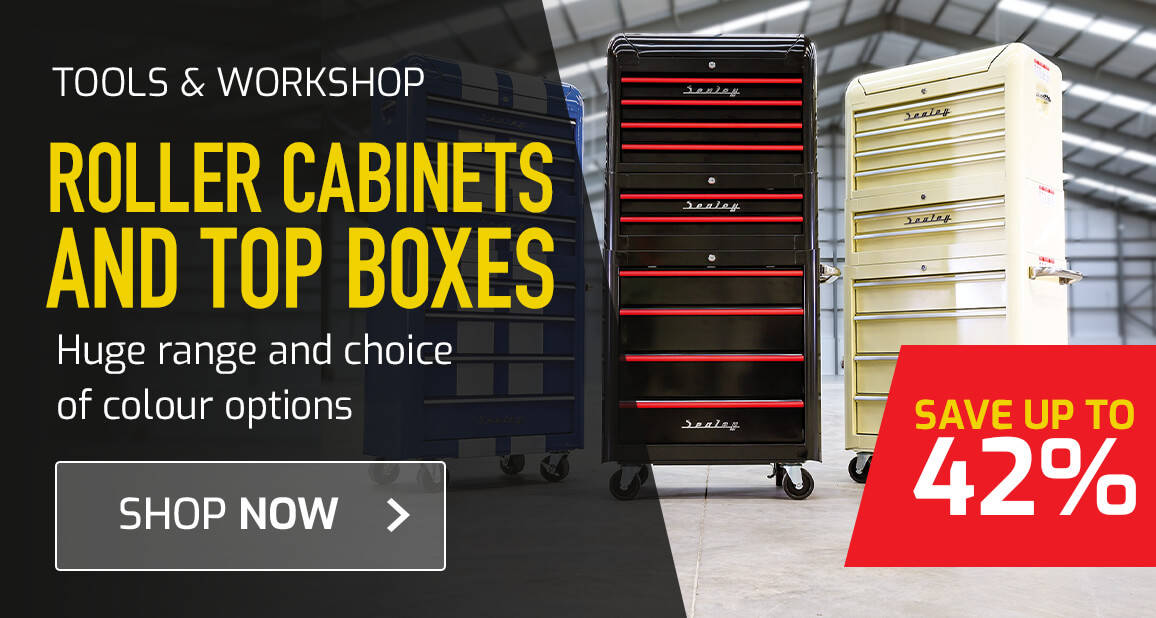 Roller Cabinets and Top Boxes