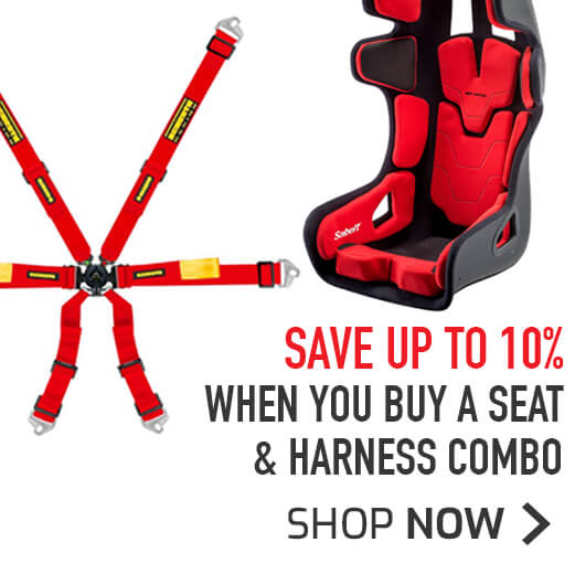 Save 10% when you buy and Seat & Harness combo