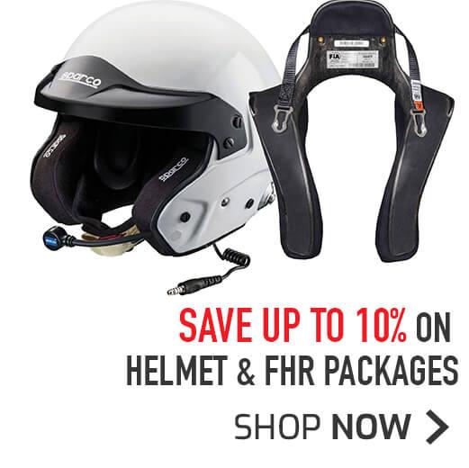 Save 10% on Helmet & FHR packages