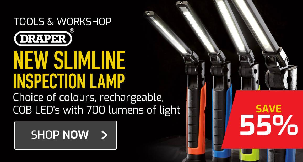 Draper Slimline Inspection Lamp