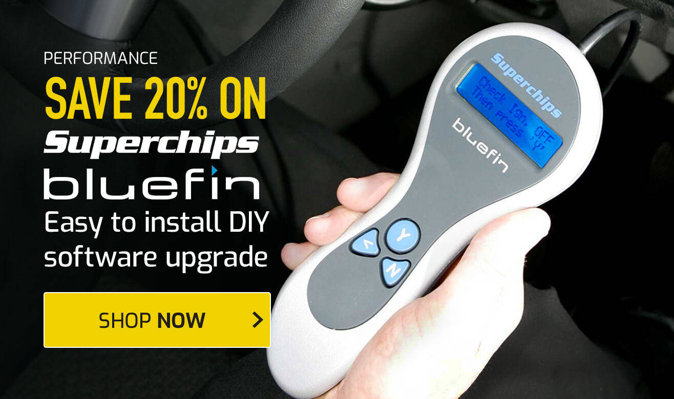 Save up to 20% on Superchips Bluefin Upgrades