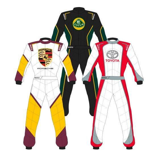Sparco Custom Easy Sprint Custom Design Race Suit