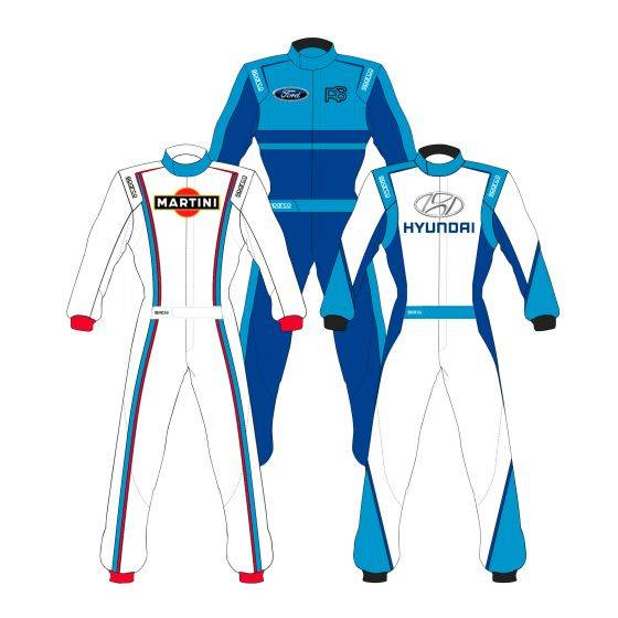 Sparco Custom Easy Competition Custom Design Race Suit