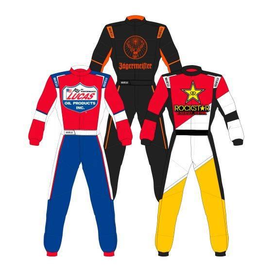Sparco Custom Easy X-Light Custom Design Race Suit