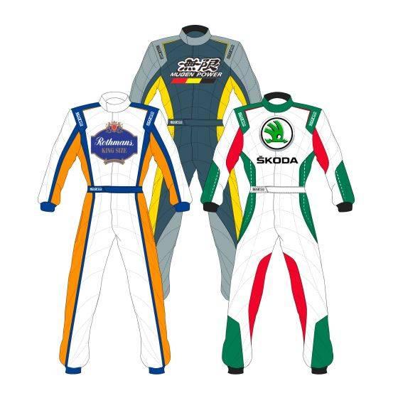 Sparco Custom Easy Prime SP-16.1 Custom Design Race Suit