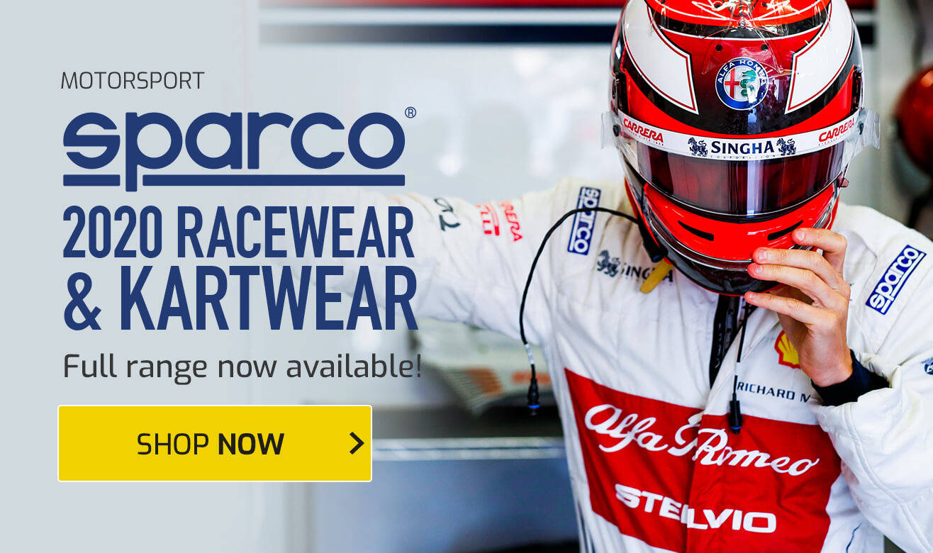 Sparco 2020 Racewear & Kartwear Now Available