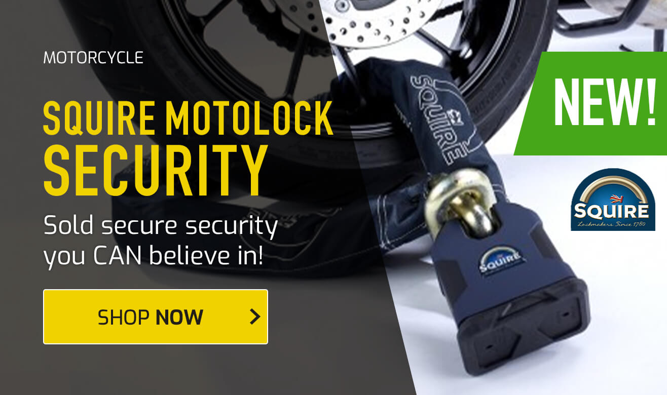 NEW - Squire Motolock Security