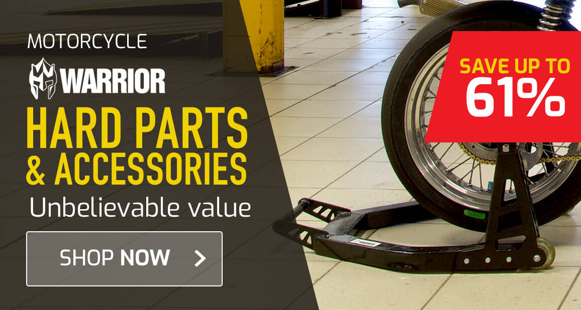 Warrior Hard Parts & Accessories - Save Up To 61%