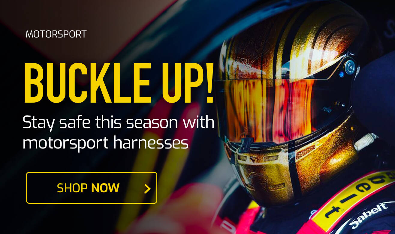 Buckle Up - Stay Sage This Season with Motorsport Harnesses