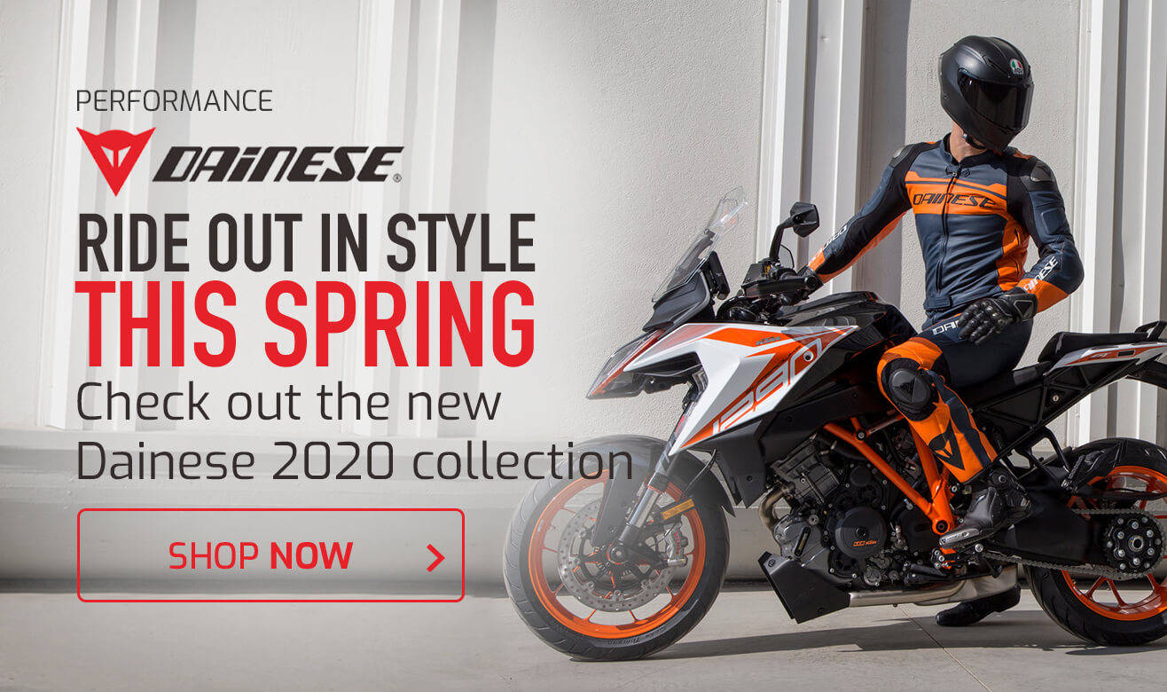 Ride Out in Style This Spring - New Dainese 2020 Collection