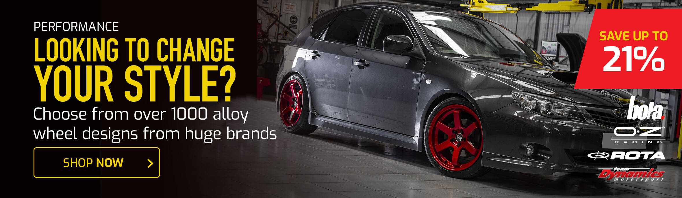 Over 1000 Alloy Wheel Designs to Choose from!