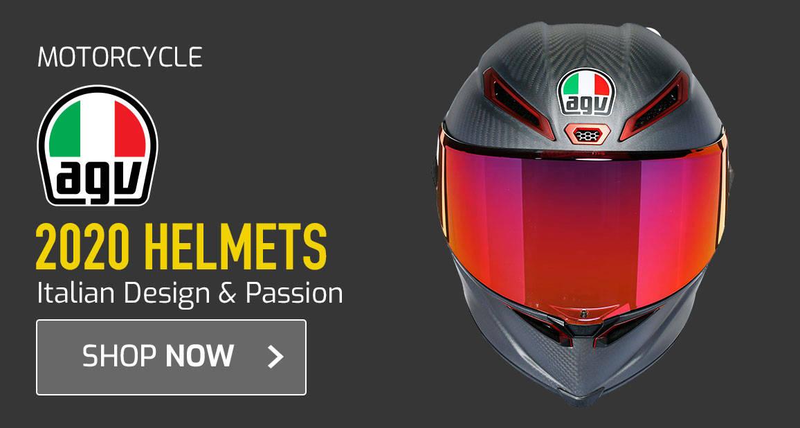 2020 AGV Helmets - Italian Design & Passion