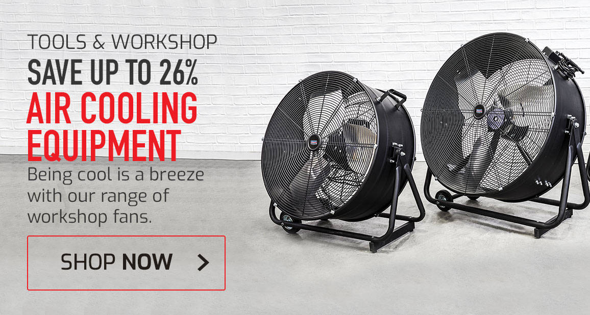 Up to 26% off air cooling equipment