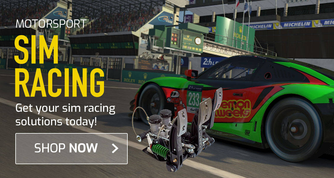 Get your Sim Racing Solutions today!