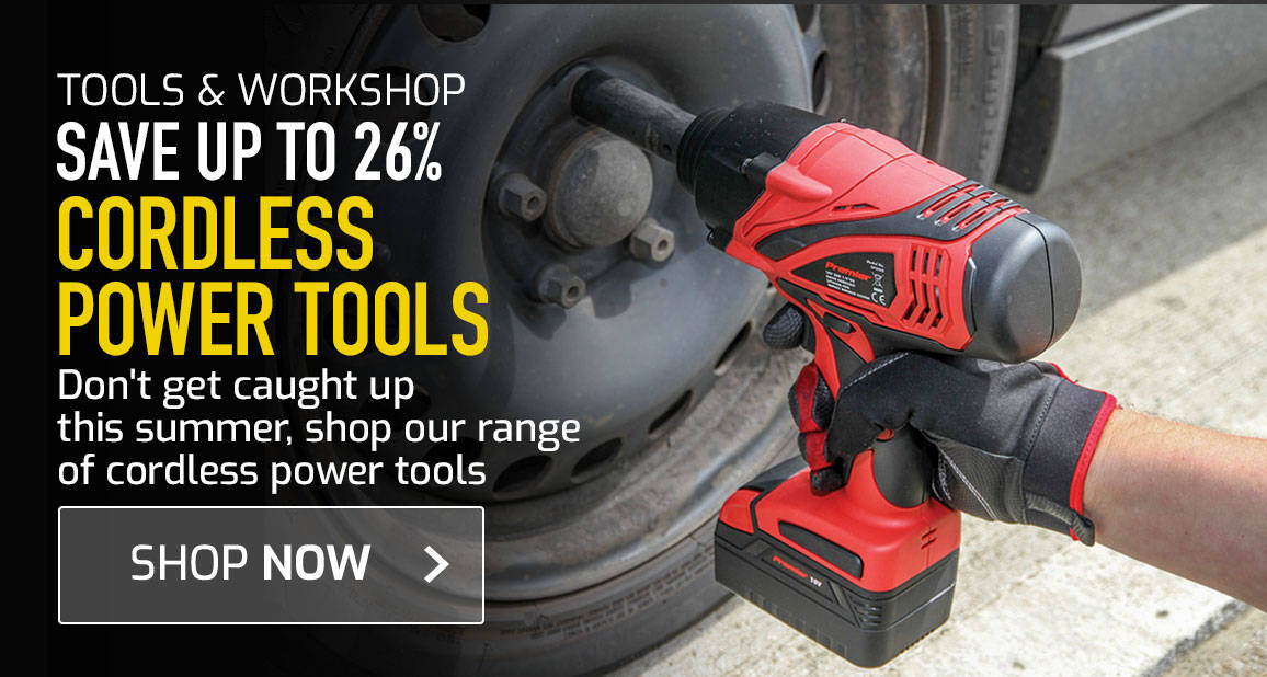 Up to 26% off Cordless power tools