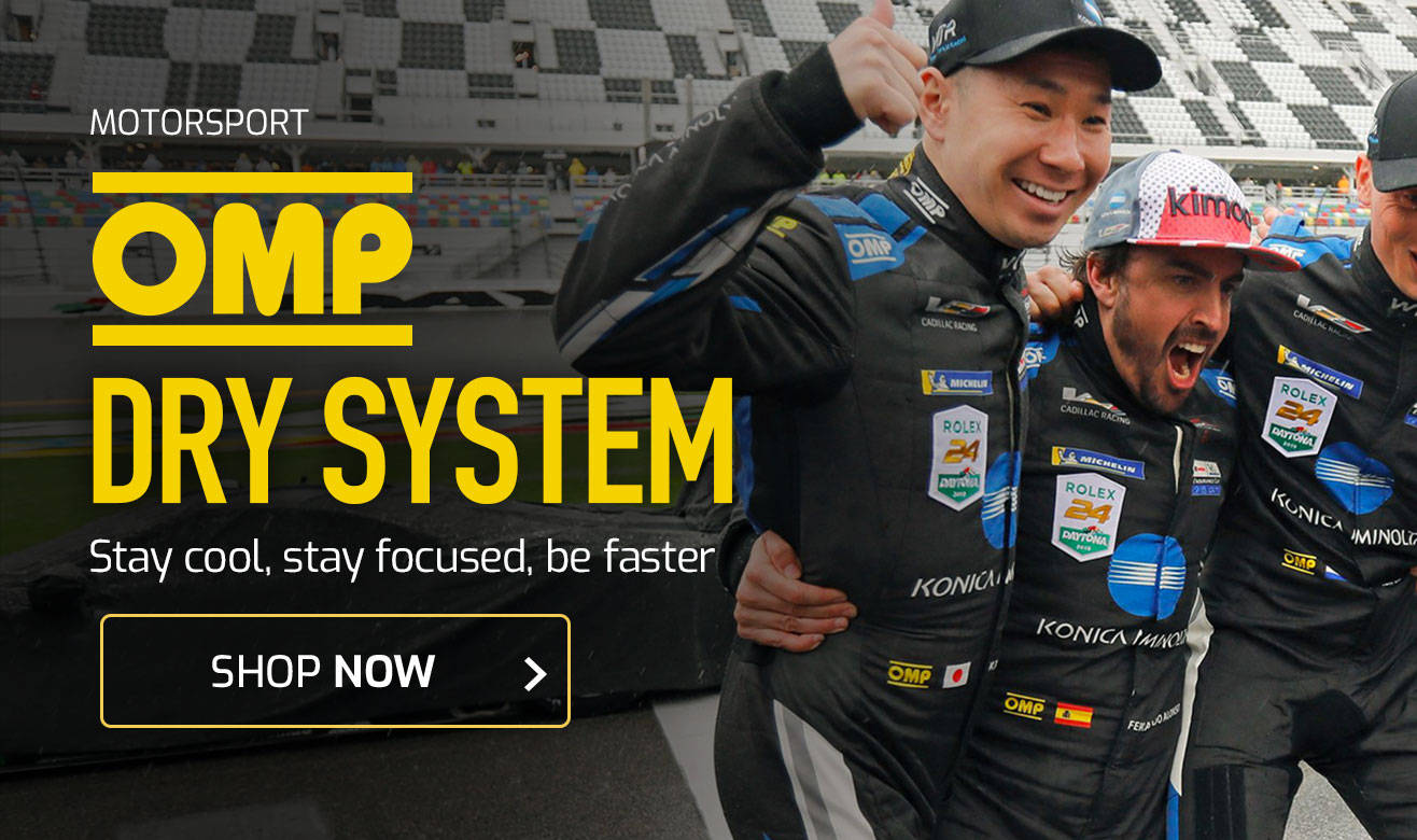 OMP Dry System - Stay cool, stay focused, be faster