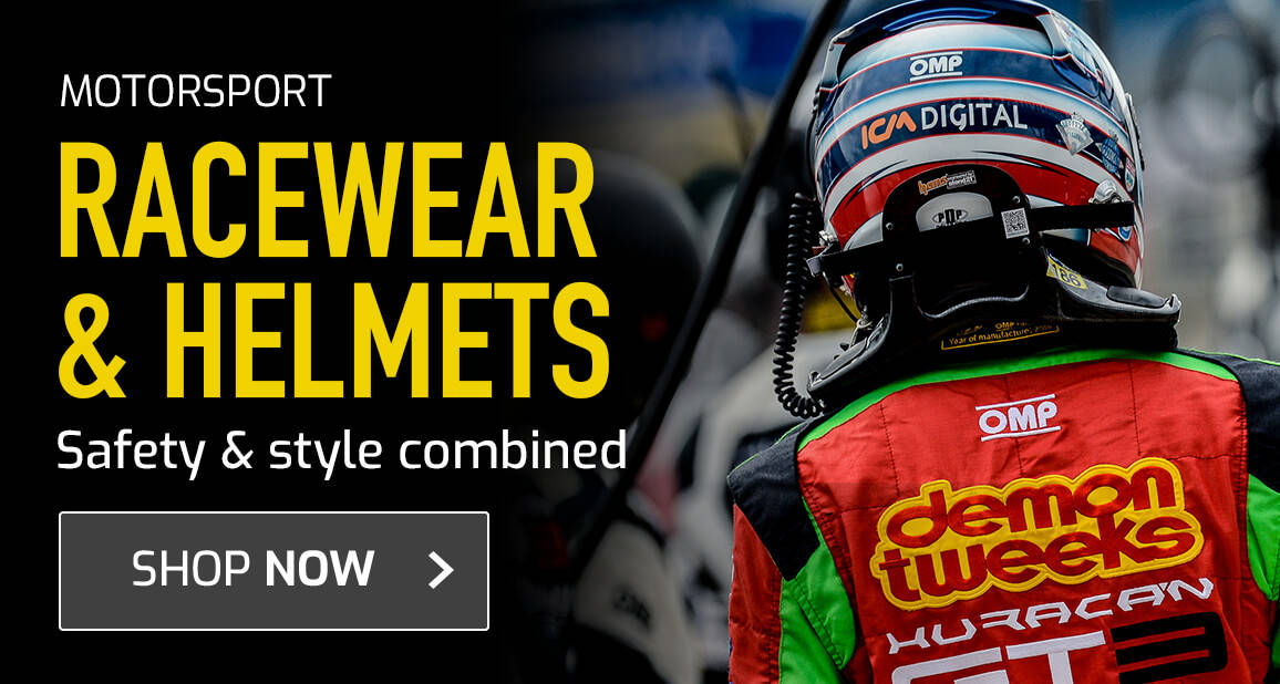 Racewear & Helmets - Safety & Style combined