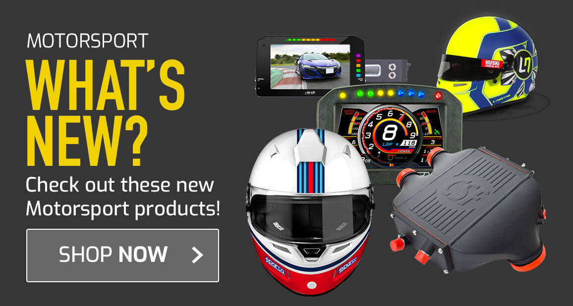 Check out these new Motorsport products!