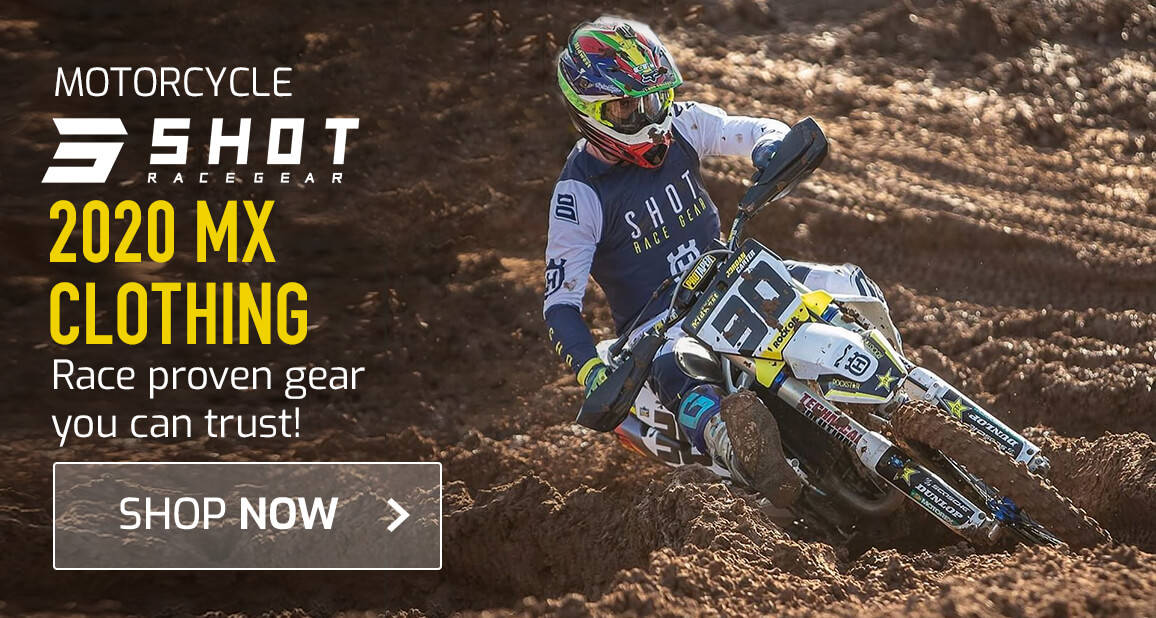 Shot 2020 MX Clothing - Race proven Gear You Can Trust!